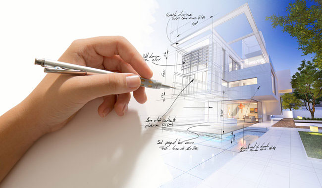 What are the basic factors involved in the selection of a good architect?